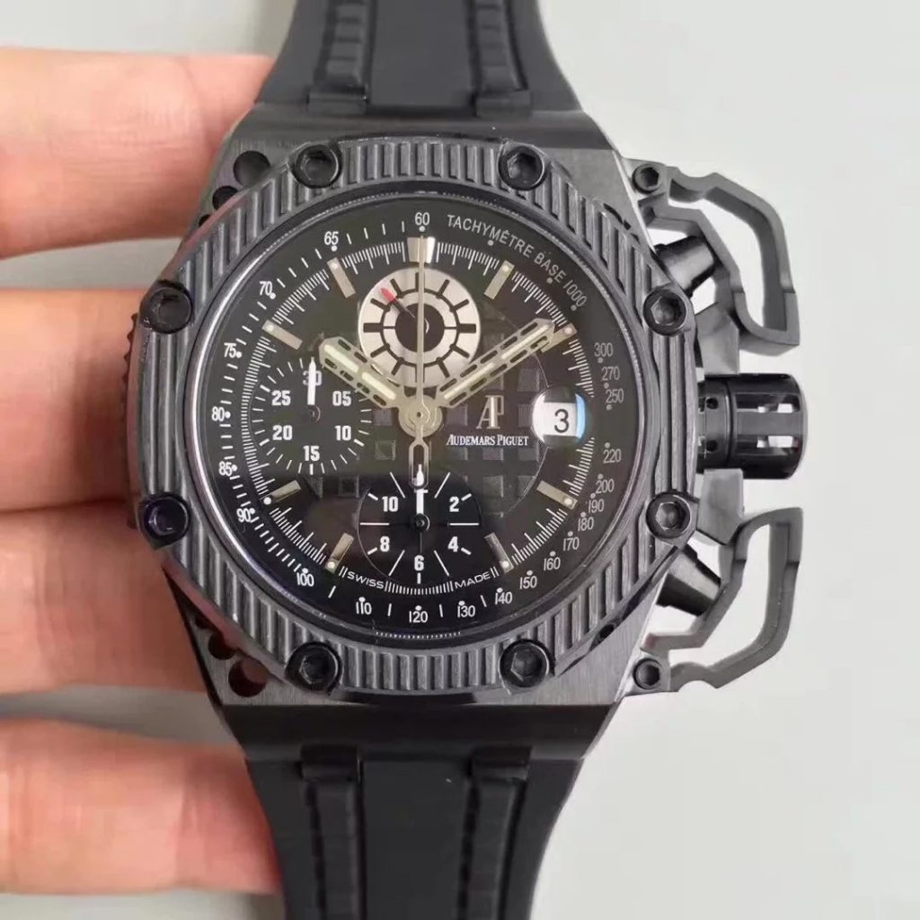 NOOB厂v2- AP Royal Oak Offshore 黑面插图3