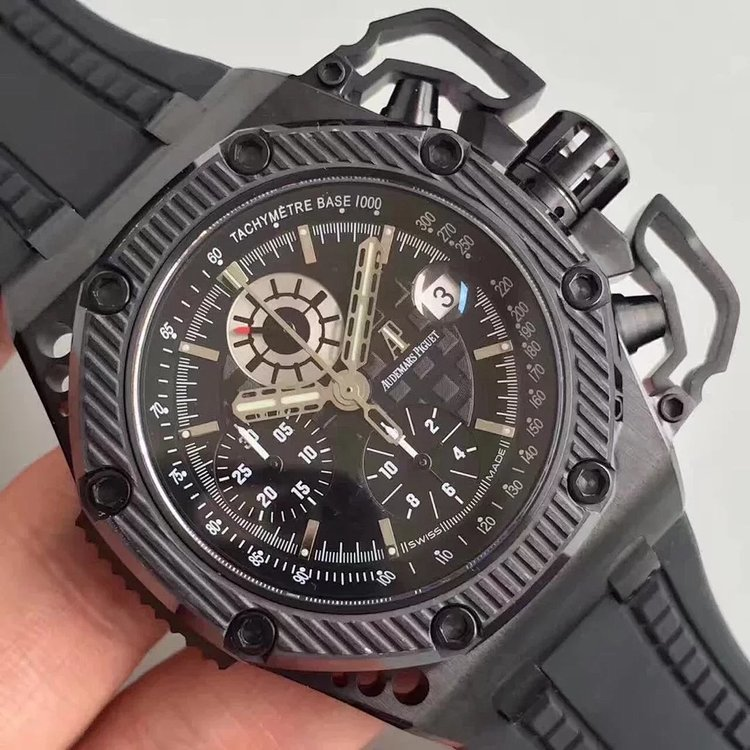 NOOB厂v2- AP Royal Oak Offshore 黑面插图
